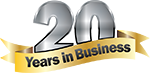 20 Years In Business NMC